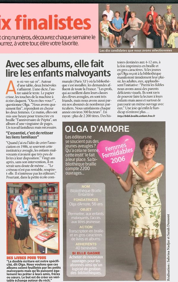 Olga Femme Actuelle