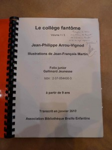 dédicace Jean-Philippe Arrou-Vignod