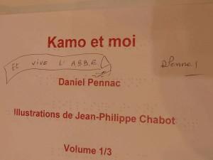 dedicace Daniel Pennac
